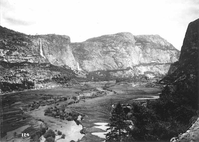 Hetch Hetchy Valley in Early 1900's, Before Valley's Inundation
