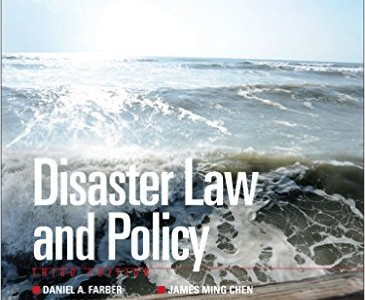 Disaster Law & Policy cover