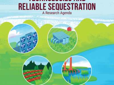 Negative Emissions Technologies and Reliable Sequestration: A Research Agenda