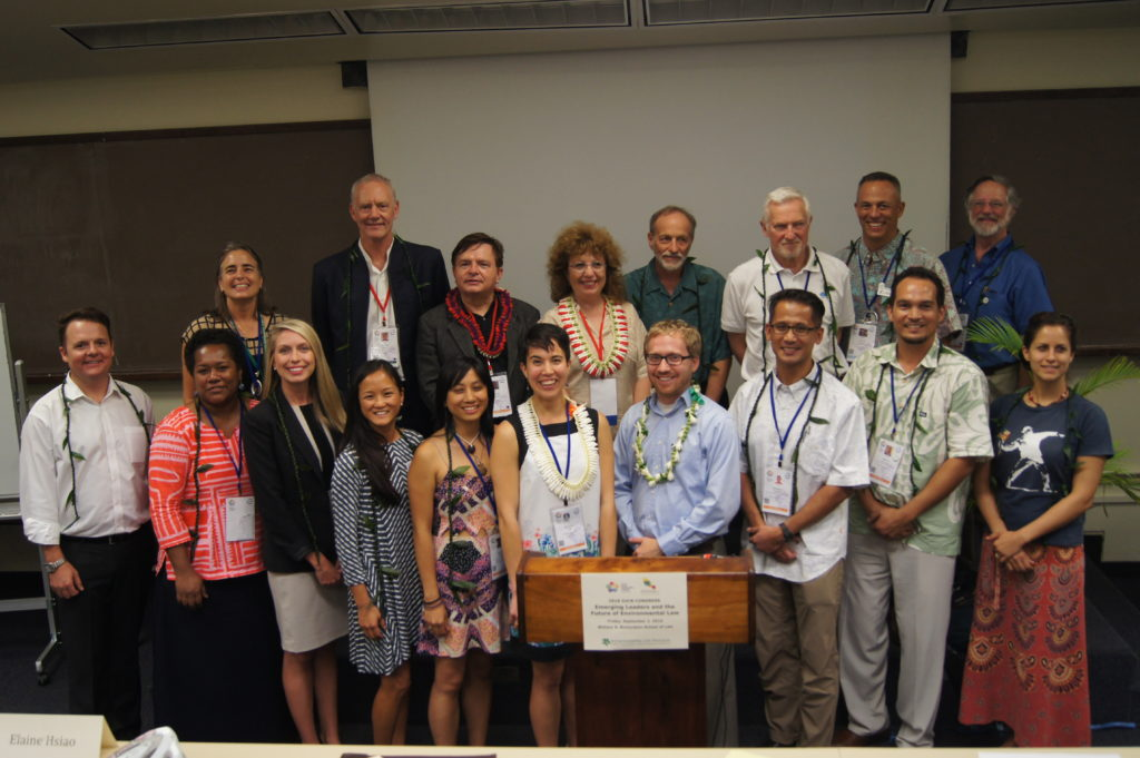 Presenters at the event on Emerging Leaders and the Future of Environmental Law in Honolulu, Sept. 2, 2016