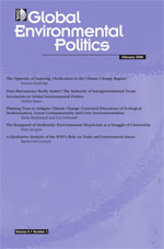 Global Environmental Politics cover